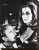 Valerie Leon Stretched Canvas Print