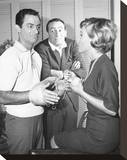 The Joey Bishop Show (1961) Stretched Canvas Print