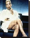 Sharon Stone, Basic Instinct (1992) Stretched Canvas Print