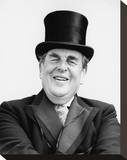 Robert Morley Stretched Canvas Print