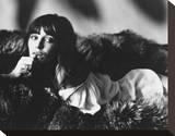 Jane Birkin Stretched Canvas Print