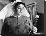 Hattie Jacques, Carry On Nurse (1958) Stretched Canvas Print