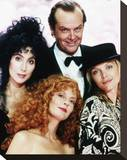 Jack Nicholson, The Witches of Eastwick (1987) Stretched Canvas Print