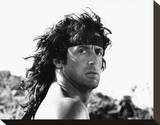 Sylvester Stallone, Rambo III (1989) Stretched Canvas Print