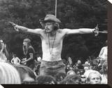 Woodstock (1970) Stretched Canvas Print