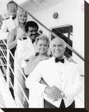 The Love Boat (1977) Stretched Canvas Print