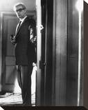 Michael Caine, The Ipcress File (1965) Stretched Canvas Print