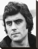 Ian McShane Stretched Canvas Print