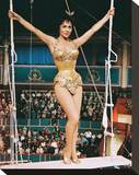 Gina Lollobrigida, Trapeze (1956) Stretched Canvas Print