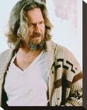 Jeff Bridges, The Big Lebowski (1998) Stretched Canvas Print