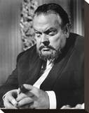 Orson Welles, House of Cards (1968) Stretched Canvas Print