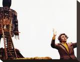 Christopher Lee, The Wicker Man (1973) Stretched Canvas Print