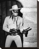 Clayton Moore, The Lone Ranger (1949) Stretched Canvas Print