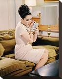 Elizabeth Taylor, The V.I.P.s (1963) Stretched Canvas Print