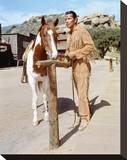 Jay Silverheels, The Lone Ranger (1949) Stretched Canvas Print