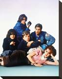 The Breakfast Club Stretched Canvas Print