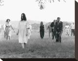 Night of the Living Dead (1968) Stretched Canvas Print