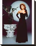 Stephanie Beacham, The Colbys (1985) Stretched Canvas Print