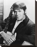 Glen Campbell Stretched Canvas Print