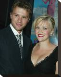 Reese Witherspoon & Ryan Phillippe Stretched Canvas Print