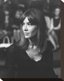 Francoise Hardy Stretched Canvas Print