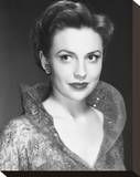 Joan Leslie Stretched Canvas Print
