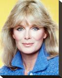Linda Evans, Dynasty (1981) Stretched Canvas Print