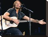 Keith Urban Stretched Canvas Print
