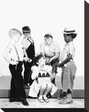 The Little Rascals (1955) Stretched Canvas Print