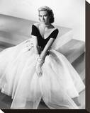 Grace Kelly Stretched Canvas Print