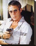 Steve McQueen, The Getaway (1972) Stretched Canvas Print