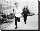 Robert Vaughn, The Man from U.N.C.L.E. (1964) Stretched Canvas Print