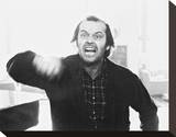 Jack Nicholson, The Shining (1980) Stretched Canvas Print