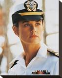 Demi Moore - A Few Good Men Stretched Canvas Print