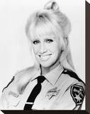 Suzanne Somers, She's the Sheriff (1987) Stretched Canvas Print