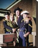 F Troop (1965) Stretched Canvas Print