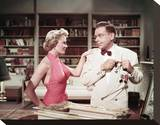 Sheree North, The Lieutenant Wore Skirts (1956) Stretched Canvas Print