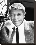 Peter Graves Stretched Canvas Print