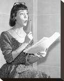 Imogene Coca Stretched Canvas Print