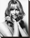 Suzy Kendall Stretched Canvas Print