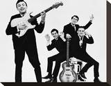 Gerry and the Pacemakers Stretched Canvas Print