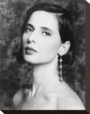 Isabella Rossellini Stretched Canvas Print