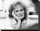 Glenn Close Stretched Canvas Print
