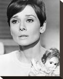 Audrey Hepburn, Wait Until Dark (1967) Stretched Canvas Print