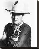 John Wayne, The Man Who Shot Liberty Valance (1962) Stretched Canvas Print