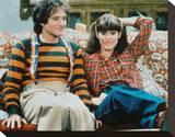 Mork & Mindy (1978) Stretched Canvas Print