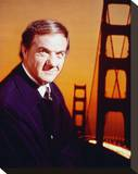 Karl Malden, The Streets of San Francisco Stretched Canvas Print