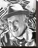 Jimmy Durante Stretched Canvas Print