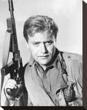 Vic Morrow, Combat! (1962) Stretched Canvas Print