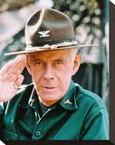 Harry Morgan, M*A*S*H Stretched Canvas Print